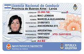 Licencia Nacional de conducir seguros on line